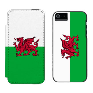 Wales Welsh Dragon Flag Wallet Case For iPhone SE/5/5s