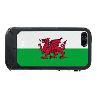 Wales Welsh Dragon Flag Waterproof iPhone SE/5/5s Case