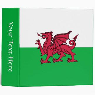 Wales - Welsh Flag Binder