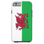 Wales – Welsh Flag Dragon iPhone 6 Case