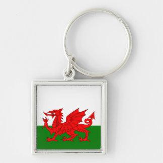 Wales  Welsh flag Keychain