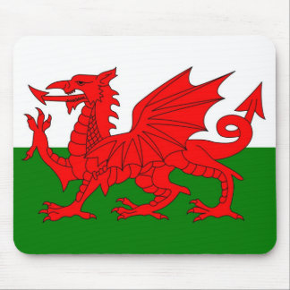 Wales  Welsh flag Mouse Pad