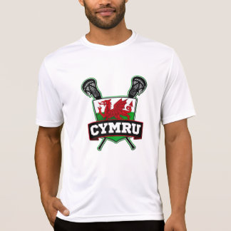 Wales Welsh Lacrosse Tshirts