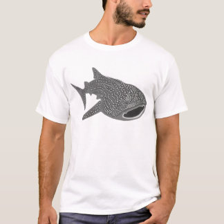 walhai wal hai whale shark animal t-shirt scuba