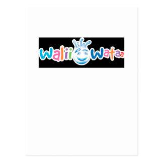 Walii Wataa Brand Items Postcard