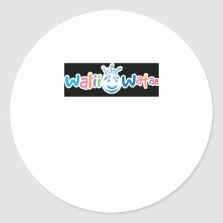 Walii Wataa Brand Items Round Stickers