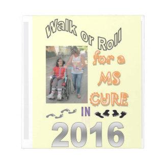 walk 2015 VU Notepad