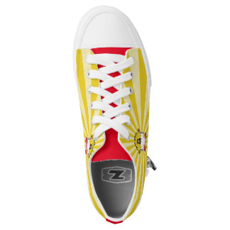 Walk a Mile for a Taco Low-Top Sneakers