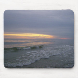 Walk along Oak Island, NC Mouse Pad