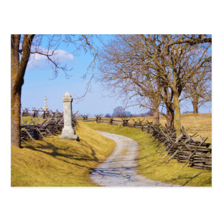 Walk at Antietam Postcard
