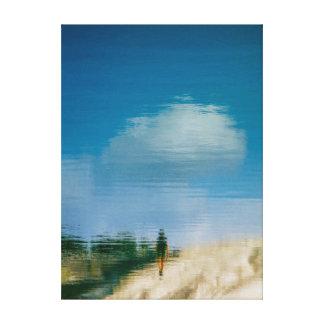 Walk Away Canvas Print