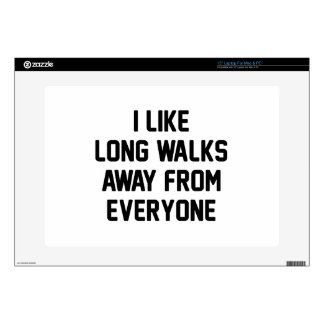 Walk Away From Everyone Decals For Laptops