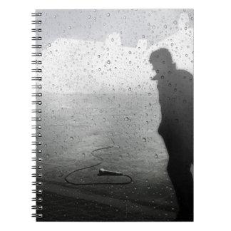 Walk Away in Silence Notebook