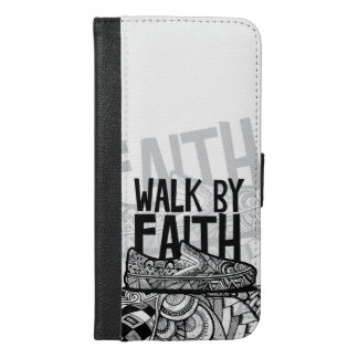 Walk by Faith iPhone 6/6s Plus Wallet Case