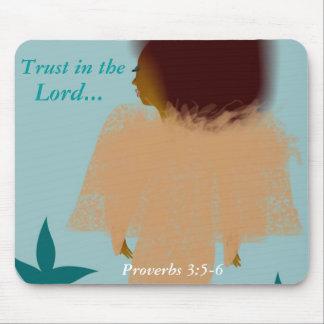 Walk by Faith! Mouse Pad