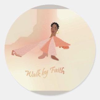 Walk by Faith stickers