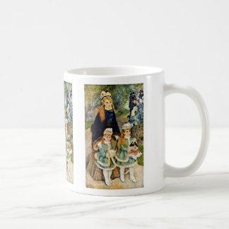 Walk By Pierre-Auguste Renoir (Best Quality) Coffee Mug