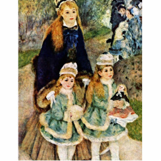 Walk By Pierre-Auguste Renoir (Best Quality) Photo Sculpture