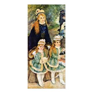 Walk By Pierre-Auguste Renoir (Best Quality) Personalized Rack Card