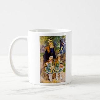 Walk by Pierre Renoir Coffee Mug