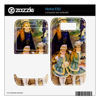Walk by Pierre Renoir Skins For The Nokia E63