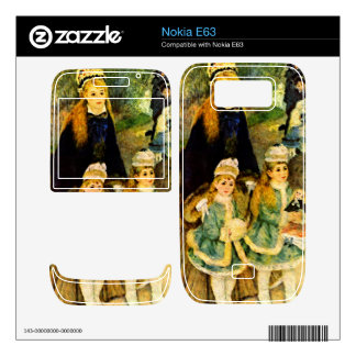 Walk by Pierre Renoir Decal For The Nokia E63