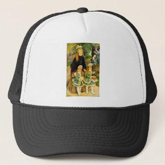 Walk by Pierre Renoir Trucker Hat