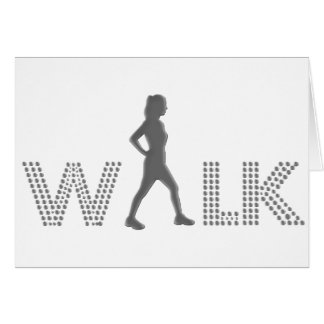 Walk Card