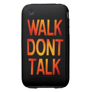 Walk Don't Talk iPhone 3 Tough Case