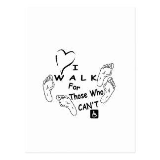 Walk Feet.jpg Postcard
