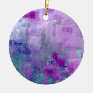 Walk for a Cure Ceramic Ornament