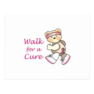 Walk For A Cure Postcard