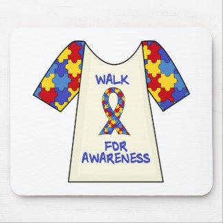 Walk For Autism Awareness Mouse Pads