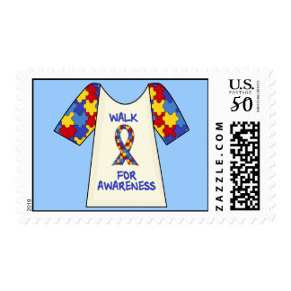 Walk For Autism Awareness Postage