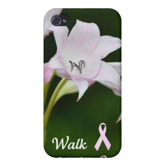 Walk for the Cure iPhone 4 Case