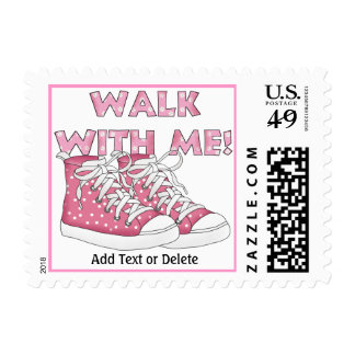 Walk For the Cure! Postage Stamp