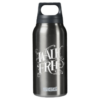 """Walk Free"" Aluminum Insulated Water Bottle"