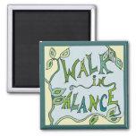 walk in balance vine fridge magnets