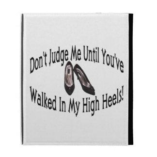 Walk In My High Heels iPad Folio Covers