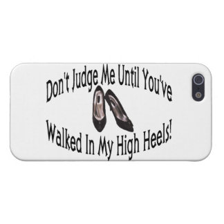 Walk In My High Heels iPhone SE/5/5s Cover