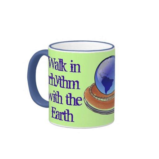 walk in rhythm mug