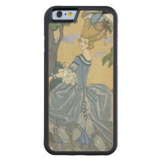 Walk in the Forest, illustration for 'Fetes Galant Carved Maple iPhone 6 Bumper Case
