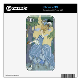 Walk in the Forest, illustration for 'Fetes Galant Skin For iPhone 4S