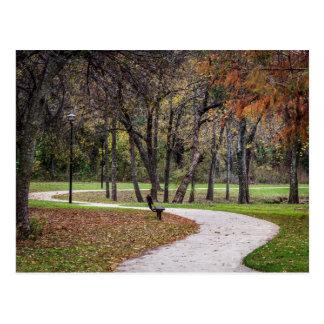 Walk in the Park Postcard