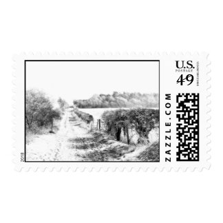 Walk in the Snow Postage