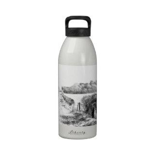 Walk in the Snow Water Bottle
