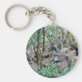 Walk in the woods keychain
