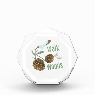 Walk In Woods Acrylic Award