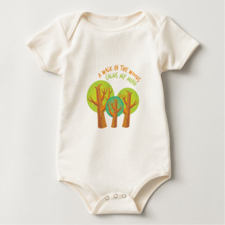 Walk In Woods Baby Bodysuit