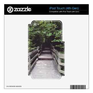 walk into the woods iPod touch 4G decals
